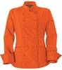 Women's Classic Ember Orange Chef Coat
