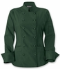 Women's Classic Green  Chef Coat
