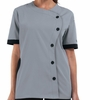 Women's Fit S-Shaped Chef Coat