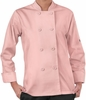 Women's Long Sleeve Economy Chef Coat