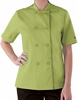 Women's Short Sleeve Summer Chef Coat