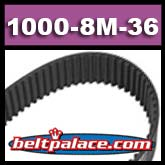1000-8M-36 HTD Synchronous Timing belt. Consumer Brand