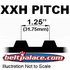 """1000XXH500 TIMING BELT. 1-1/4"""" Pitch (5 x 100in PL),"""