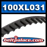 "100XL031 Timing belt H/HTD. 10"" Length, 50 teeth, 5/16"" Wide."