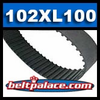 102XL100 Timing belt H/HTD