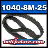 1040-8M-25 HTD Synchronous Timing belt. 25MM Wide.