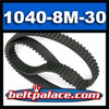 1040-8M-30 HTD Synchronous Timing belt. 30MM Wide.
