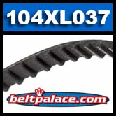 104XL037 Timing belt H/HTD.