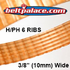 106H6 Poly-V Belt, Metric 6-PH269 Motor Belt.