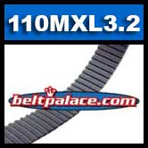 110MXL3.2G Timing belt. Industrial Grade 110MXL012.