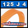 125J4 Poly-V Belt, Metric 4-PJ317 Drive Belt.