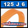 125J6 Poly-V Belt, Metric 6-PJ317 Motor Belt.