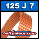 125J7 Poly-V Belt. Metric 7-PJ317 Drive Belt.
