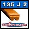 135J2 Poly-V Belt,  Metric 2-PJ305 Motor Belt.