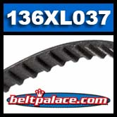 136XL037 Timing belt H/HTD.