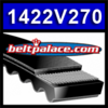 "1422V270 Multi-Speed Belts: 7/8"" Top Width. Replaces Variable Speed Belt 690VA2222."