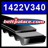"1422V340 Multi-Speed Belts: 7/8"" Top Width. Replaces Variable Speed 875VA2222, Metric belt 22V865A22."