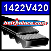 "1422V420 Multi-Speed Belt: 7/8"" Top Width. Replaces Variable Speed 1060VA2222, Metric belt 22V1065A22."