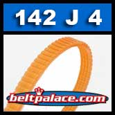 142J4 Poly-V Belt, Metric 4-PJ360 Motor Belt.