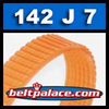 142J7 Poly-V Belt, Metric 7-PJ360 Motor Belt.
