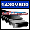1430V500 Multi-Speed Belt, Industrial Grade.