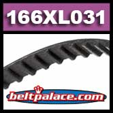 166XL031 Timing belt.