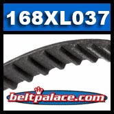 168XL037 Timing belt HTD.