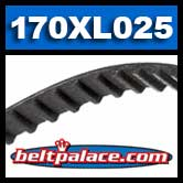 170XL025 Timing belt. Industrial Grade.