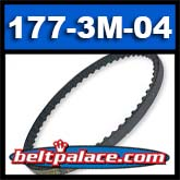 177-3M-04 HTD Timing belt. 3M-177 x 4mm Wide.