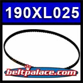190XL025 Timing belt replaces Dayco SS48364, Dodge 464513.