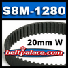 200-S8M-1280 Synchronous belt. STS 8mm Pitch X 1280mm Length OC X 20mm Width. Supertorque (STS) Synchronous belt.