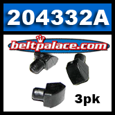 """204332A (3-Pack) Insert buttons. Manco 6804 buttons. Replaces OEM """"non-snap"""" insert buttons on Comet 20 Series, 30 Series, TAV, Go Karts."""