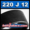 220J12 BANDO Poly-V Belt. Metric 12-PJ559 Motor Belt.