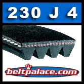 230J4 Poly-V Belt, Metric 4-PJ584 Belt