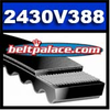 2430V388 Multi-Speed Belt, Industrial Grade.