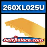 260XL025 Polyurethane Timing belt. 260XL-025U Timing belt.