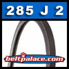 285J2 Poly-V Belt, Metric 2-PJ724 Motor Belt.