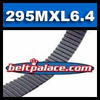 295MXL6.4G Timing belt. Industrial Grade 295MXL025.