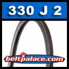 330J2 Poly-V Belt, Metric 2-PJ838 Motor Belt.