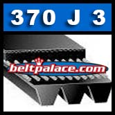 370J3 Poly-V Belt. Metric 3-PJ940 Drive Belt.