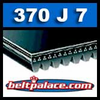370J7 Poly-V Belt. Metric 7-PJ940 Drive Belt.