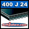 400J24 Poly-V Belt, Metric 24-PJ1016 Motor Belt.