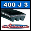 400J3 Poly-V Belt, Metric 3-PJ1041 Motor Belt.