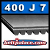 400J7 Poly-V Belt, Metric 7-PJ1016 Drive Belt.
