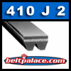 410J2 GATES MICRO-V Belt (Poly-V): Metric PJ1041 Motor Belt. 41� L, 2 Ribs.