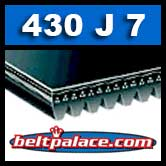 430J7 Poly-V Belt. Metric 7-PJ1092 Drive Belt.