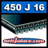450J16 Poly-V Belt. Metric 16-PJ1143 Drive Belt.