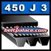 450J3 Poly-V Belt. Metric 3-PJ1143 Motor Belt.