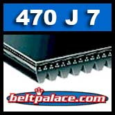 470J7 Poly-V Belt. Metric 7-PJ1194 Drive Belt.