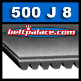 500J8 Poly-V Belt, Metric PJ1270 Fitness Machine Belt.